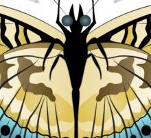 Tiger Stripe Butterfly Sticker