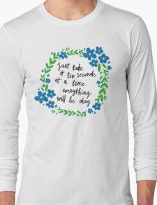 Ten Seconds Long Sleeve T-Shirt