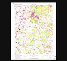 USGS TOPO Map New Jersey NJ Jamesburg 254489 1953 24000 Unisex T-Shirt