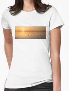 Wings at Sunrise Womens Fitted T-Shirt