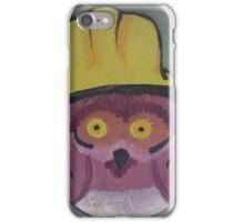 Helmet Owl iPhone Case/Skin
