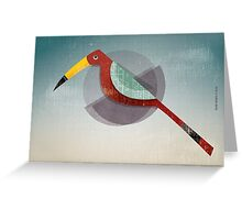 The forgotten spy Greeting Card