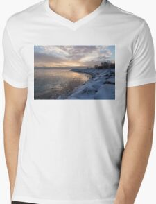 Ice Dawn Mens V-Neck T-Shirt