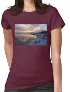 Ice Dawn Womens Fitted T-Shirt