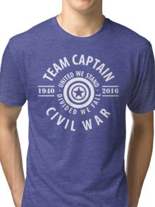 TEAM CAPTAIN - CIVIL WAR Tri-blend T-Shirt