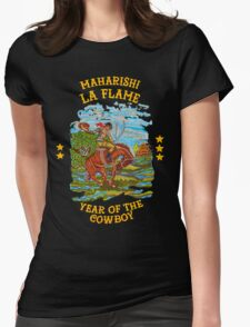 La Flame Rodeo - Travis Scott Womens Fitted T-Shirt