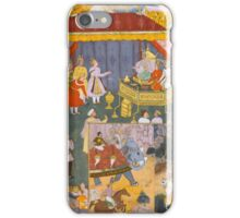 An illustration from the Razmnama, India, Mughal iPhone Case/Skin