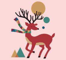 Deer Autumn One Piece - Long Sleeve