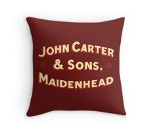 John Carter & Sons Throw Pillow