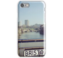 Bristol bridge, England iPhone Case/Skin