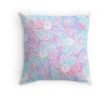 Daisy-ed and Confused Throw Pillow
