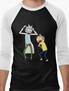COME ON RICK n MORTY Men's Baseball ¾ T-Shirt