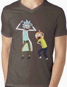 COME ON RICK n MORTY Mens V-Neck T-Shirt