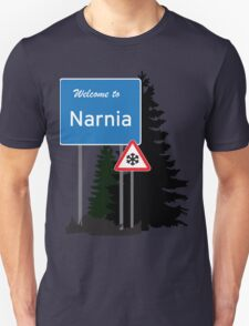 Narnia traffic Unisex T-Shirt