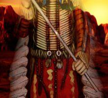 Sunset Chief Sticker