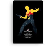 Flash Gordon - Movie Poster Canvas Print