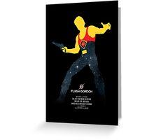 Flash Gordon - Movie Poster Greeting Card