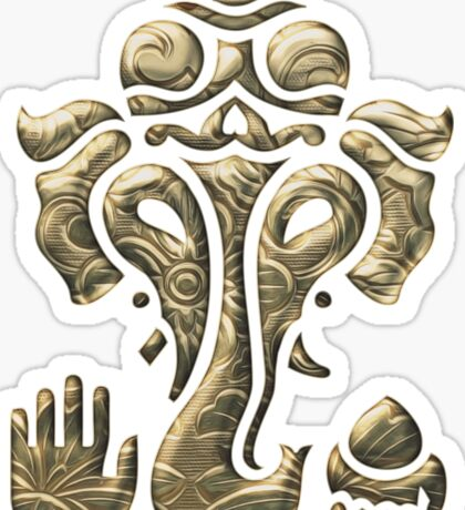 Ganesha, Elephant God - Hinduism, Tantra Sticker