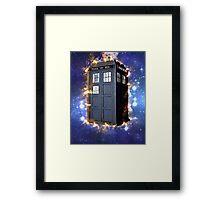Doctor Who - Exploding Tardis Framed Print