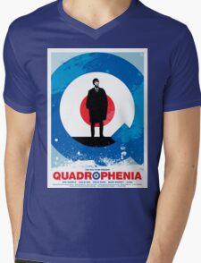 Quadrophenia - Movie Poster Mens V-Neck T-Shirt