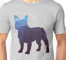 French Bull Dog Galaxy Unisex T-Shirt