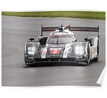 Porsche Team No 2 Poster