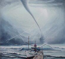Barco Tornado by Angel Ortiz