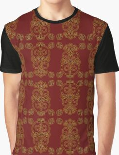 Fire Pattern Graphic T-Shirt