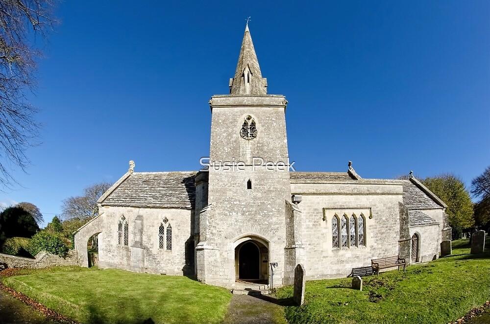 St Michael & All Angels Church 2 ~ Little Bredy by Susie Peek