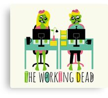 The working dead Canvas Print