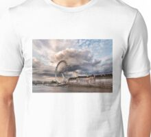 Impressions of London - London Eye Dramatic Skies Unisex T-Shirt
