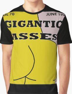 Gigantic Asses Magazine June 1995 Graphic T-Shirt