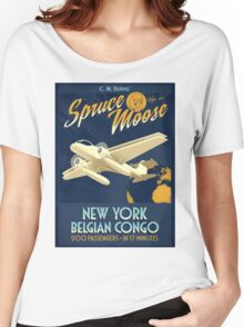 Fly the Spruce Moose Women's Relaxed Fit T-Shirt