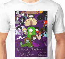 The First Masters of Spinjitsu Webcomic Cover Unisex T-Shirt