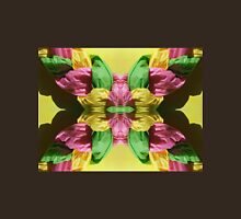 Pastel Puffed Paper Flower Unisex T-Shirt