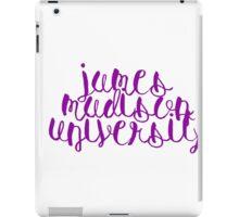 James Madison University iPad Case/Skin