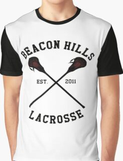 Beacon Hills Lacrosse Graphic T-Shirt