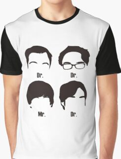 Big Bang Theory UnOfficial Graphic T-Shirt