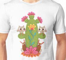 Cactus Hoot Unisex T-Shirt