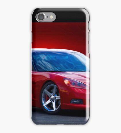 2005 Chevrolet Corvette C6 Coupe iPhone Case/Skin