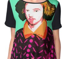 Christopher Marlowe, Poet and Spy Chiffon Top