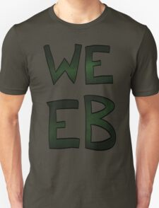 Green Space Weeb Graphic Unisex T-Shirt