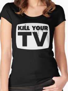 Kill Your TV Women's Fitted Scoop T-Shirt