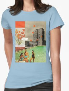 Pop Womens Fitted T-Shirt