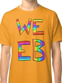 Rainbow Weeb Graphic Classic T-Shirt