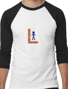 Stick Man Men's Baseball ¾ T-Shirt