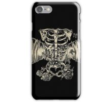 Stomach full of useless butterflies iPhone Case/Skin