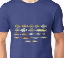 Freshwater Fish Group Unisex T-Shirt