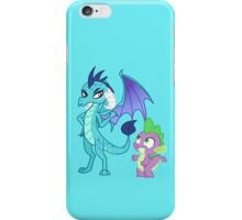 PRINCESS EMBER AND SPIKE iPhone Case/Skin
