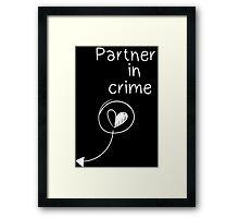 Life is strange Partner in crime Framed Print